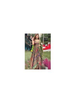 Adorable Multi-color Designer Gown