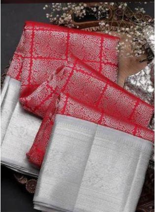Shop Sensational Pink Banarasi Silk Base Woven Designer Saree
