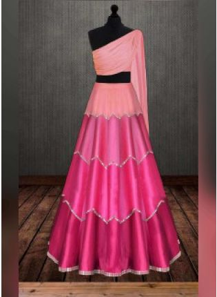 Beautiful Pink Lehenga Choli