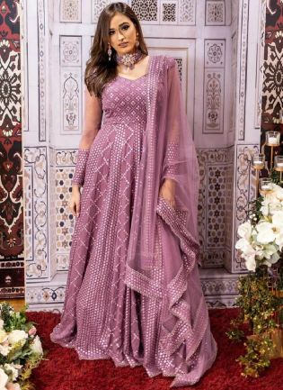 Glamorous Pink Color With Heavy Sequence Work Salwar Suit